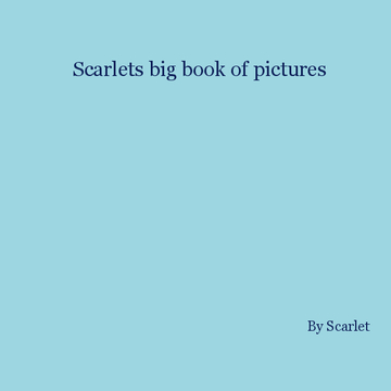 Scarlets big book of art