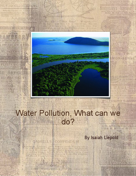 Water Pollution, What should we do?