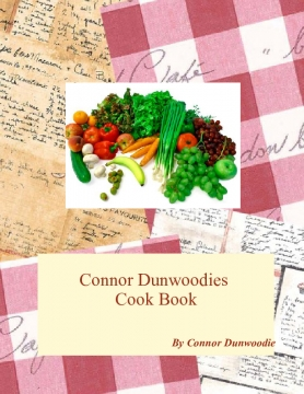 Connor Dunwoodies Cook Book