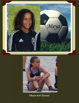 Meya and Soccer