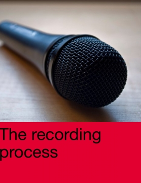 Music : The recording process