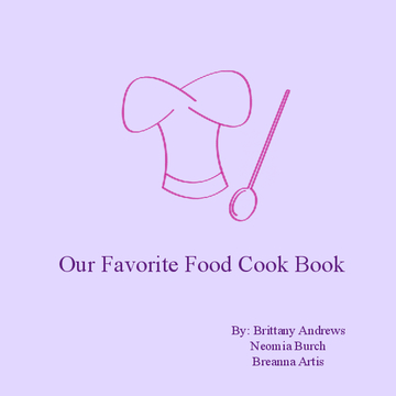Our Favorite Food Cookbook