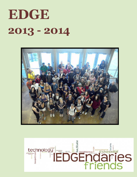 EDGE Yearbook 2013-2014