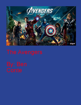 The Avengers family book
