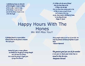 Happy Hours with the Hones