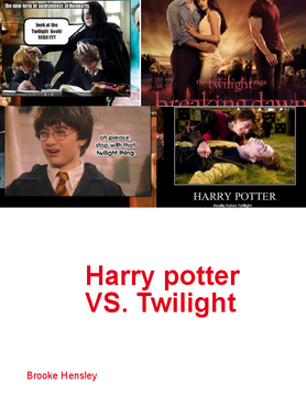 Harry potter vs twightlight