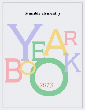 Stumble elementary yearbook