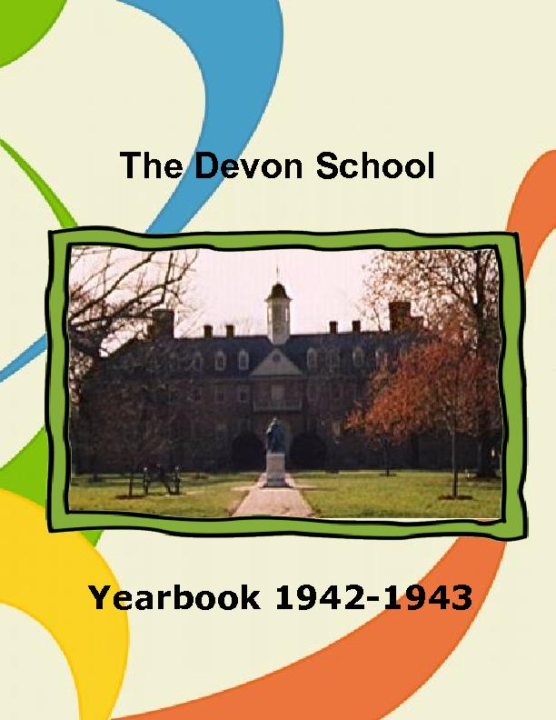 devon school a separate peace