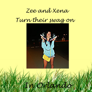 Zee and Xena Turn their swag on in Orlando