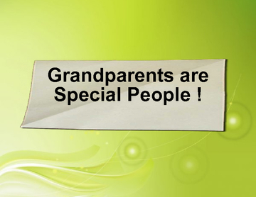 Grandparents are Special