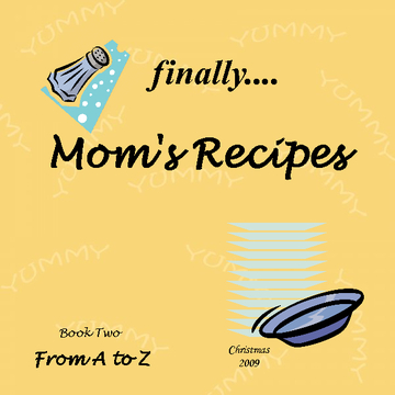 finally.....mom's recipes