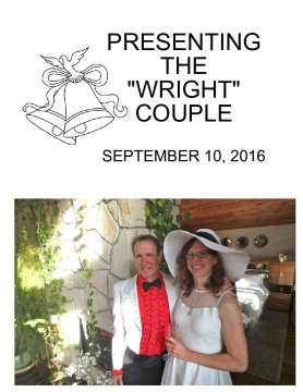 Presenting the WRIGHT Couple
