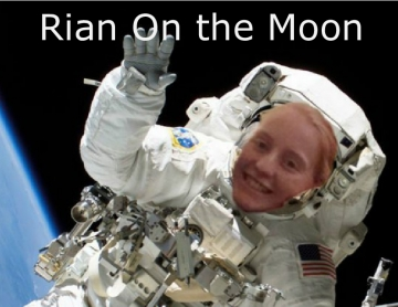 Rian on the Moon