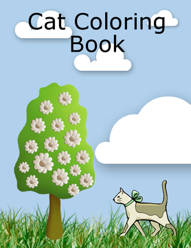 Cat Coloring Book!