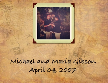 Michael and Maria Gibson