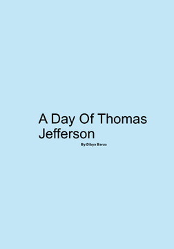A Day Of Thomas Jefferson