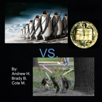penguins vs. squirrels