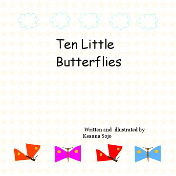 Ten Little Butterflies