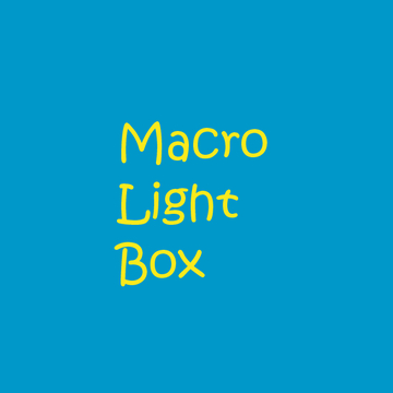 Macro light box