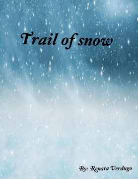 Trail of snow