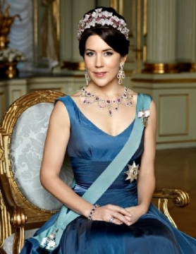 Mary Crown Princess of Denmark, Countess of Monpezat, RE, Lt.
