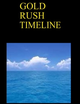 Gold rush timeline