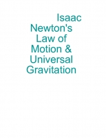 Isaac Newton's law of motion