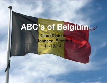 ABC's of Belgium