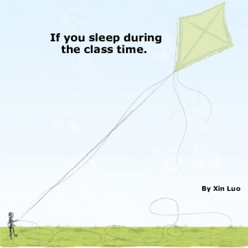 If you sleep during the class time