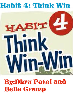 Habit 4:Think Win Win