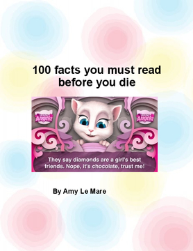 100 facts you must read before you die