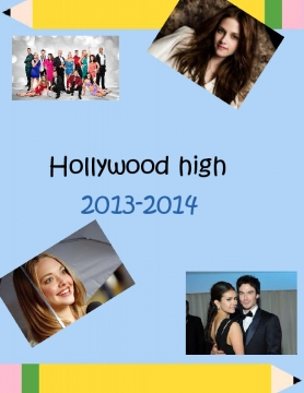 Hollywood high year book