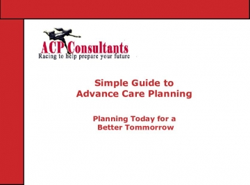 Simple Guide to Advance Care Planning