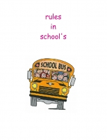 rules in schools