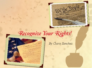 Recognize Your Rights!