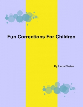 Fun Corrections For Children