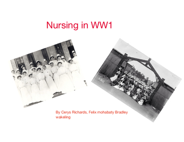 Nursing in WW1