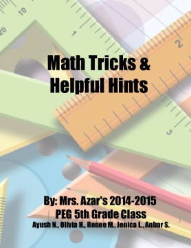 PEG Math Hints and Tricks!