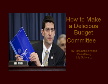 How To Make a Delicious Budget Committee