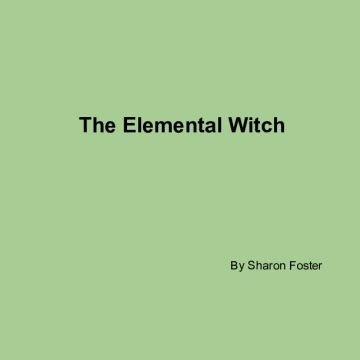 The Elemental Witch