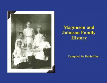Magnuson & Johnson Family History