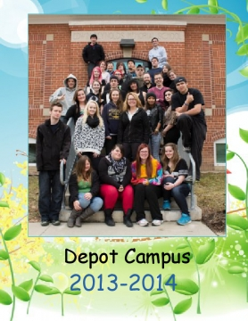 2013-2014 Depot Campus Yearbook