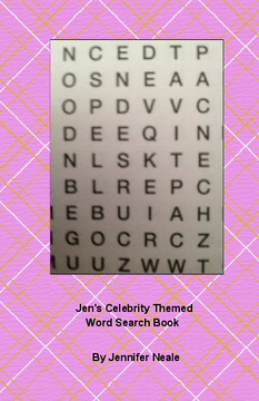 Jen's Celebrity Themed Word Search Book