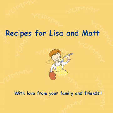 For Lisa and Matt