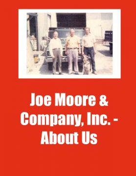 Joe Moore & Company, Inc. - About Us