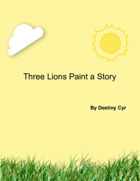 Three Lions Paint a Story