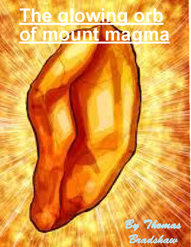 The glowing orb of mount magma