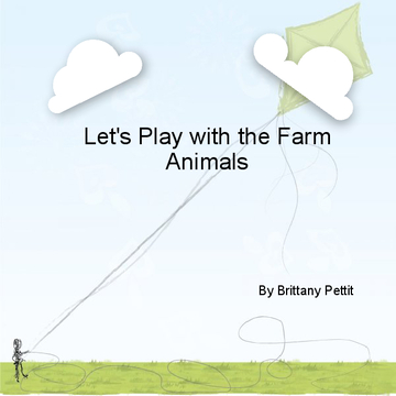 Let's play with the farm animals