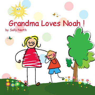 Gma-Aunt-Mom Love Noah 5
