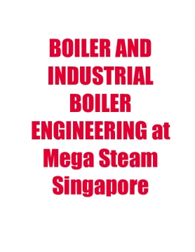 BOILER AND INDUSTRIAL BOILER ENGINEERING at Mega Steam Singapore